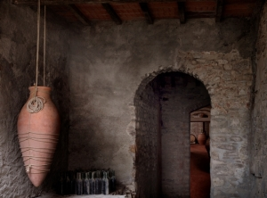 amphorae in the Grignanello's farm