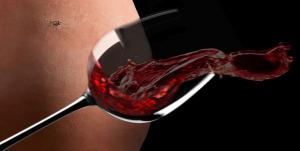 calice- terracotta-e-vino