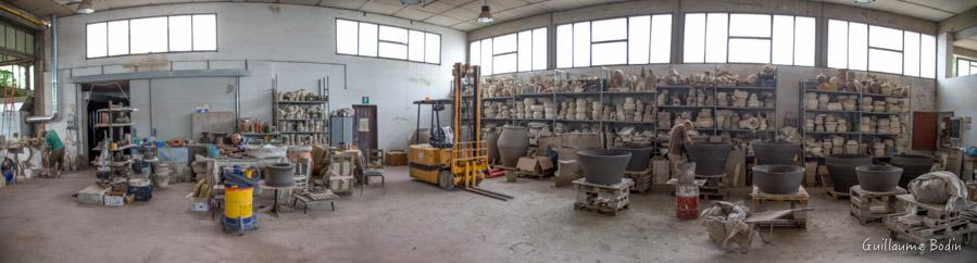 La fabbrica di Artenova di Leonardo Parisi