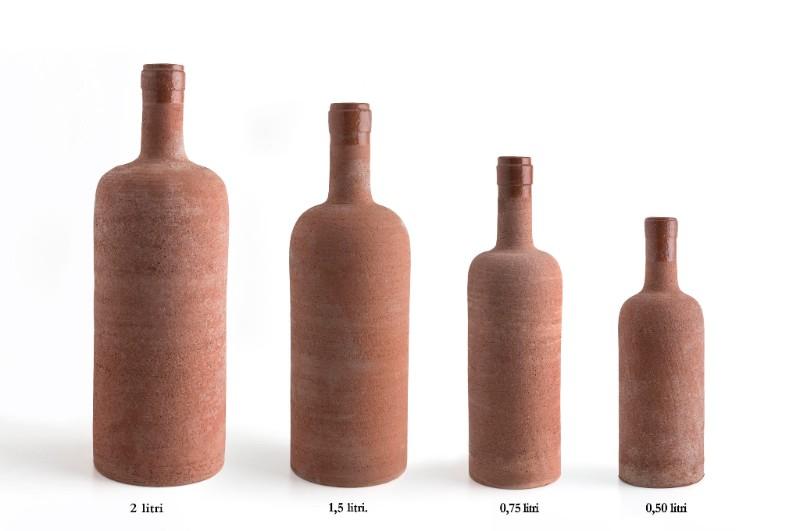 N. 5 Maggio 2017-Nuovo set di bottiglie da vino al tornio