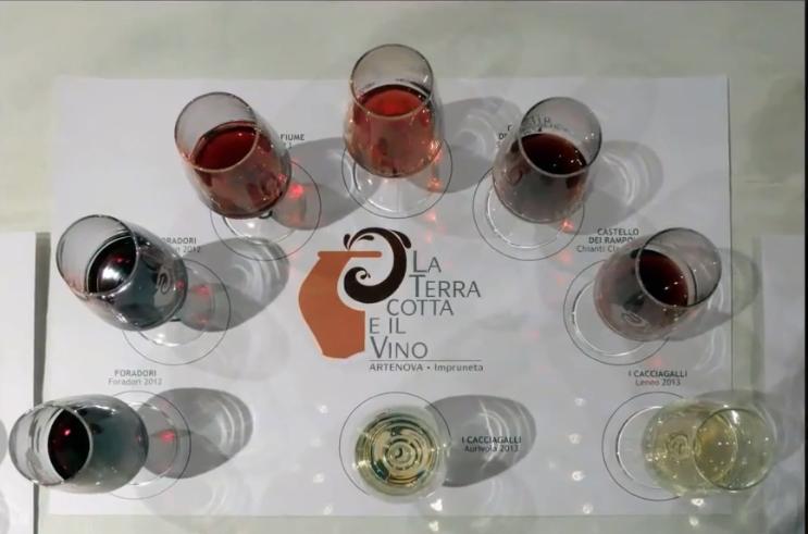 """Dieci minuti di emozioni con l'evento """"La Terracotta e il Vino 2014"""""""